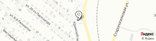 УралМашДеталь, ЗАО на карте Копейска