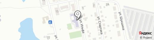 Средняя общеобразовательная школа №32 на карте Копейска