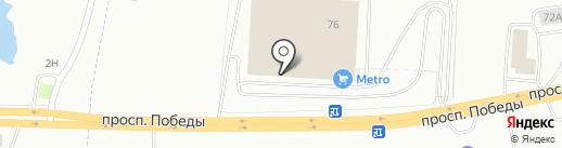 Rioba на карте Копейска