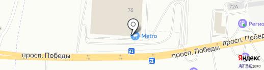 Банкомат, Райффайзенбанк на карте Копейска