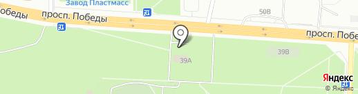 S club на карте Копейска