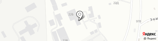 Гарант Бетон на карте Копейска