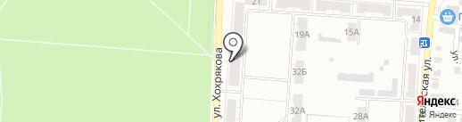 Почтовое отделение №20 на карте Копейска