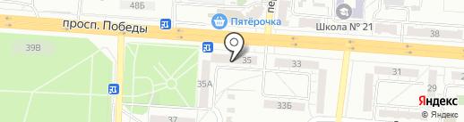 Сеть комиссионных магазинов на карте Копейска