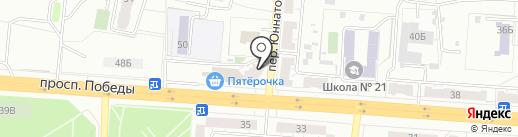 Мебельный магазин на карте Копейска