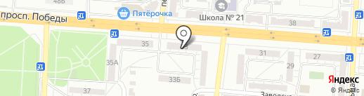 Уралочка на карте Копейска