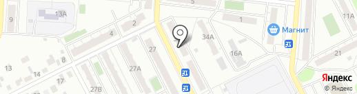 Ателье на ул. Гастелло на карте Копейска
