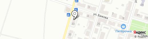 Сбербанк, ПАО на карте Копейска