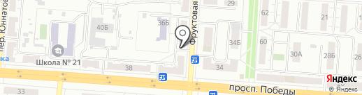 Почтовое отделение №4 на карте Копейска