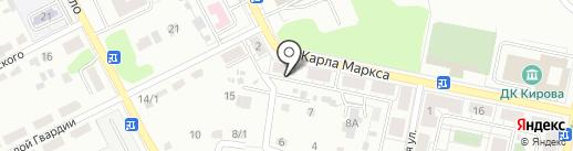 Примуламед на карте Копейска
