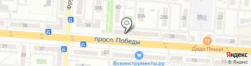 Профкосметик-Челябинск на карте Копейска