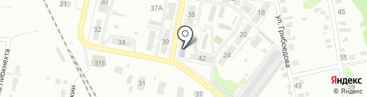 Детский сад №8 на карте Копейска