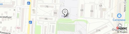 Детский сад №21 на карте Копейска
