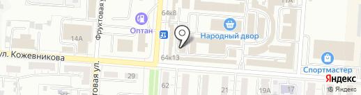 Малеренко И.Н. на карте Копейска