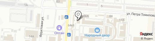Архон на карте Копейска
