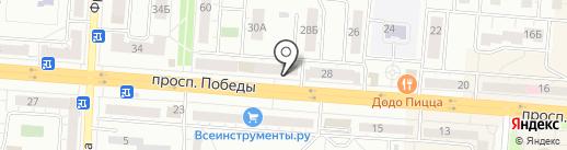 Варюша на карте Копейска