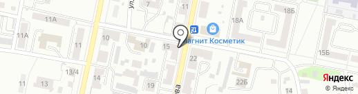 Почтовое отделение №10 на карте Копейска