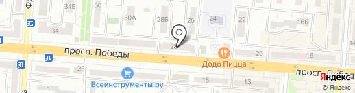 Дикси на карте Копейска