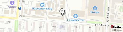 Деревоперерабатывающее предприятие на карте Копейска
