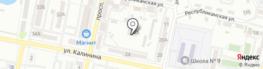 Социально-реабилитационный центр для несовершеннолетних на карте Копейска