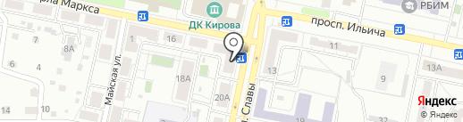Интерком-Л на карте Копейска