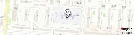 Детский сад №27 на карте Копейска