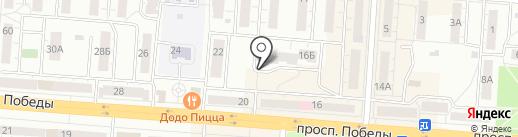 Прачечная-химчистка на карте Копейска