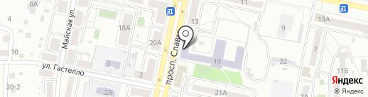 КТЛП на карте Копейска