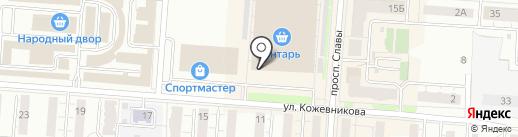 Магазин инструментов на карте Копейска