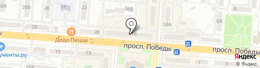 Аптека КЛАССИКА на карте Копейска