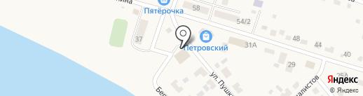 Петровский сельский дом культуры на карте Петровского