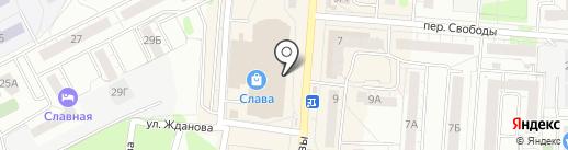 Банкомат, Газпромбанк на карте Копейска