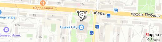 Кофейня на карте Копейска