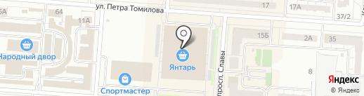 Магазин игрушек на карте Копейска