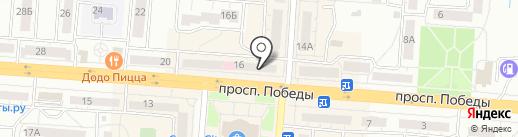 Кыштымский трикотаж на карте Копейска