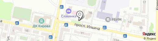 Пивной клуб на карте Копейска