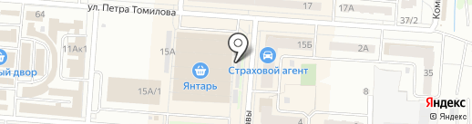 Кафетерий на карте Копейска