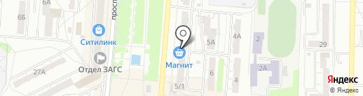 Магазин сантехники на карте Копейска