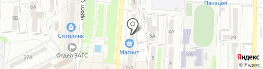 Вираж-плюс на карте Копейска