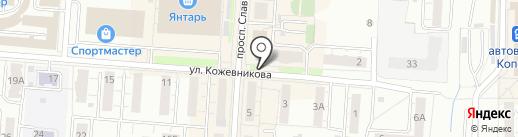 ERA-AUTO.RU на карте Копейска