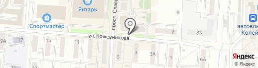 74SNA на карте Копейска