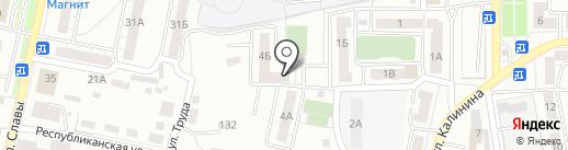 Qiwi на карте Копейска