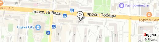 Torex на карте Копейска