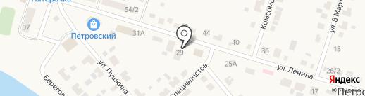 Продуктовый магазин на карте Петровского