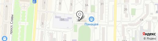 Лаборатория права на карте Копейска