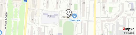Ю-Нэт на карте Копейска