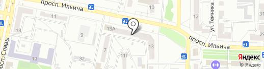5 Авеню на карте Копейска