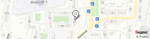 Юлия на карте Копейска