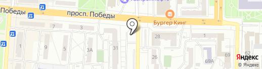 Полистрой на карте Копейска