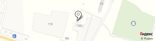 Магазин строительных материалов на карте Петровского